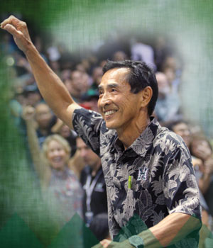 Dave Shoji Aloha Ball Retirement Celebration